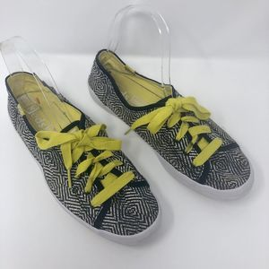 Keds Rally Optic Black White Sneakers Shoe…